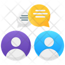 Meeting Discussion Collaboration Icon