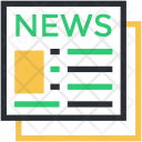 Communication News Newspaper Icon