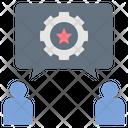 Communication Teamwork Process Icon
