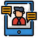 Communication Conference Meeting Icon