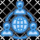 Communication Business World Icon