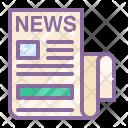 Communication Media News Icon