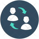 Communication Users Talking Icon