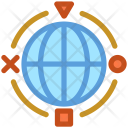 Communication Globe International Icon