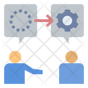 Communication Discussion Opinion Icon