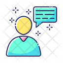 People Chat Communication Icon