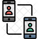 Communication Conference Call Mobiles Icon