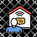 Communication Smart Home Icon