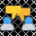 Communication Conversation Chatting Icon