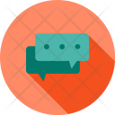 Communication Chatting Text Icon
