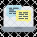 Communication Notification Alert Icon