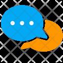 Communication Talk Bubble Icon