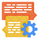 Communication Discussion Analysis Icon