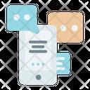 Communication Phone Talking Icon