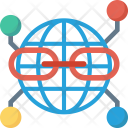 Communication Connection Global Icon