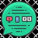 Coney Message Across Icon
