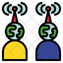 Communication Transmissible Connect Icon