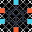 Communication Connection Data Icon
