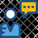 Communication Speech Bubble Icon
