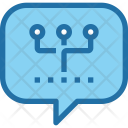 Communication Network Chat Icon