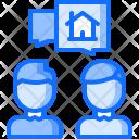 Talk Realtor Building Icon