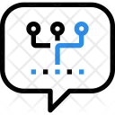 Communication Chat Network Icon