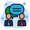 Bubble Discussion Conversation Icon