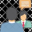 Communication Speech Bubble Users Icon