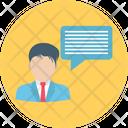 Communication Speech Bubble Talking Icon