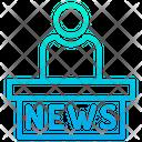 News Anchor Anchor User Icon