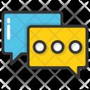 Communication Bubble Icon