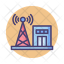 Communication Center Infomation Antena Icon