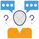 Communication Conflict Icon