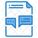 Communication File Icon