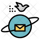 Communication Earth Mail Icon