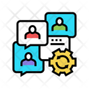 Communication Optimize Communication Optimize Icon