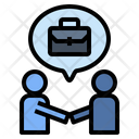 Communication Skill Deal Trade Icon