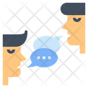 Communication Skill Idea Exchange Talk Icon