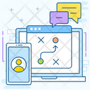 Communication Strategy Icon