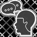 Communication Thinking Icon