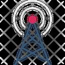 Communication Radio Tower Icon