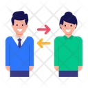 Communication Transfer Talk Transfer One To One Talk Icon