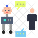 Communication Communicating Transmitting Icon