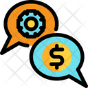 Communicationbusiness Conversation Icon