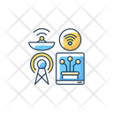 Communications Infrastructure Communication Infrastructure Icon