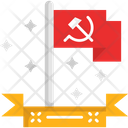 M Communist Flag Icon