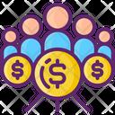 Community Communities Crowdfunding Icon
