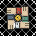 Community Foundation Arm Assistance Icon