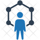 Community Network Connection Teamwork Icon