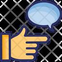 Community Satisfaction Feedback Marketing Strategy Icon
